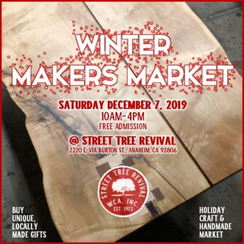 urban lumber slab for makers market on Dec 7th
