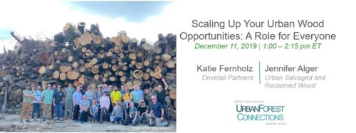 sacling up your urban wood opportunities with log deck photo