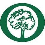 Arbor Day foundation logo green with cirlce around a tree